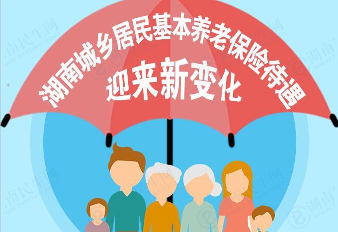 湖南城乡居民基本养老保险待遇迎来新变化