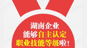 【图解】企业单位职工技能等级认定企业说了算!