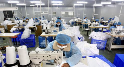 全省规模以上工业企业开复工率达93.5%