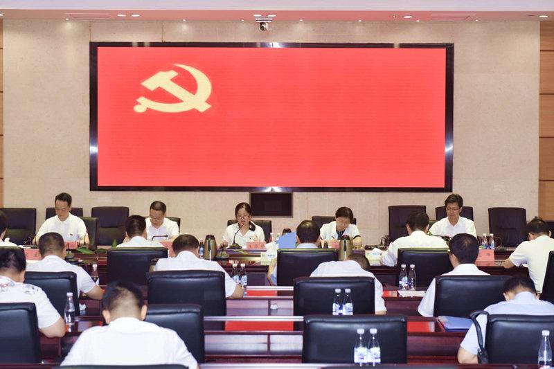 省人社厅劳动关系口各处室联合开展主题党日活动