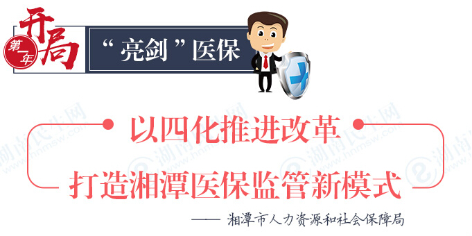 开局第一年丨打造湘潭医保监管新模式